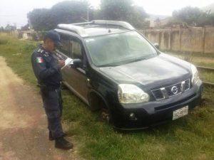 Recupera Policia Municipal vehículo con reporte de robo