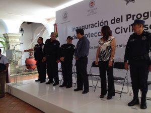 Inaugura municipio de Oaxaca de Juárez decreto de Protección Civil