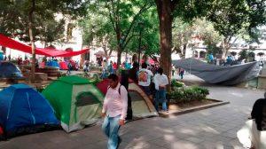 Registra Oaxaca pérdidas millonarias por plantón de maestros
