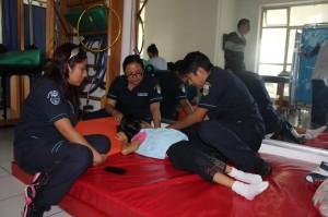 DIF Municipal y la Facultad de Medicina de la UABJO coadyuvan en la atención a las PCD's