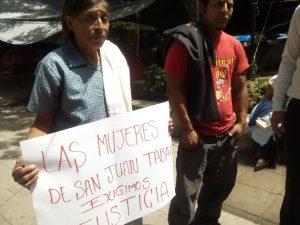 Denuncian abuso de autoridad y machismo en San Juan Tabaá