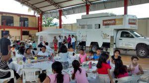 SEDESOH lleva Bienestar a familias de Mesones Hidalgo
