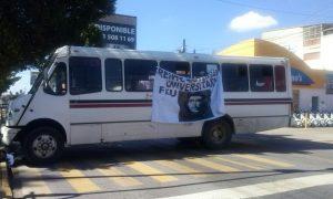 Impune secuestro de autobuses con violencia a los pasajeros