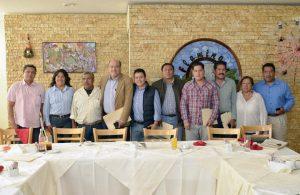 Preside Javier Villacaña primera sesión de la Red Regional de Municipios por la Salud
