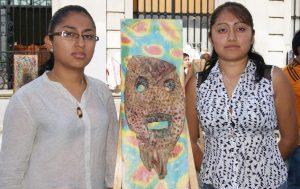 """""""Máscaras Shamánicas"""", se expone en la Biblioteca Pública Central Margarita Maza de Juárez"""