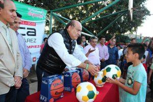 Gracias a la suma de voluntades, mejora imagen del municipio: Villacaña Jiménez