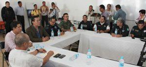 Unen fuerzas Federación, Estado y Municipio para garantizar seguridad de oaxaqueños y visitantes en las festividades de Todos Santos