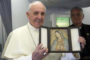 Papa Francisco hará misa especial a la Virgen de Guadalupe