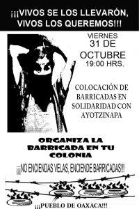 Magisterio radicalizará jornada de lucha por caso Ayotzinapa