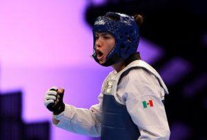María del Rosario Espinoza gana oro en taekwondo