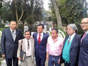 Conmemora gobierno del Estado y  Samuel Gurrión XCII aniversario luctuoso de Ricardo Flores Magón