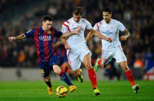 Messi, el máximo goleador de historia de la liga española