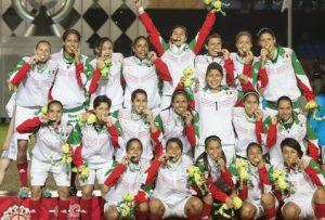 El Tri femenil, oro en Veracruz 2014