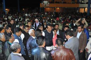 Samuel Gurrion se reúne con pastores evangélicos
