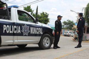 Resguarda Policía Municipal fiestas decembrinas