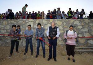 Entrega y supervisa Villacaña obras de mejoramiento social en Guadalupe Victoria