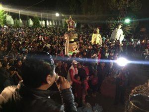 Multitudinario arranque de la fiesta patronal en Mitla