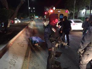 Debido a exceso de velocidad, muere atropellada joven de 18 años