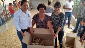 Promueve Benjamín Robles en Zaachila la autosuficiencia alimentaria