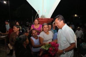 Compromete Samuel Gurrión apoyos para los pueblos del Bajo Mixe
