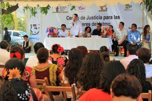 Inicia construcción del Centro de Justicia para Mujeres del Istmo
