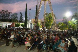 Con más de 200 personas en Santa Ana Tlapacoya, Barroso expone sus propuestas