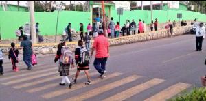 La mayoría de escuelas en Oaxaca regresan a clases.