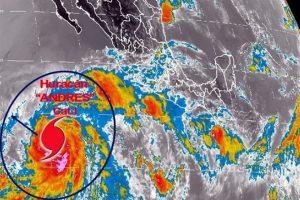 Evoluciona tormenta 'Andrés' a huracán