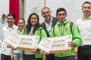 Reconoce Gabino Cué mérito de deportistas oaxaqueños durante la Olimpiada y Paraolimpiada Nacional 2015