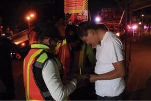 Asegura Policía Vial a 17 conductores en Operativo Alcoholímetro