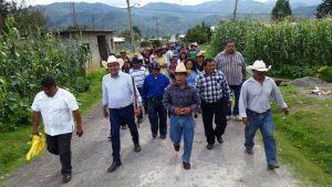Lleva Benjamín Robles una luz de esperanza a la Sierra Sur