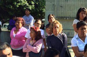 Exigen comerciantes y trabajadores liberar el Zócalo de la Ciudad