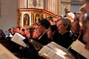 Mensaje de Paz de UNESCO a través de la música;  exitoso primer concierto magno