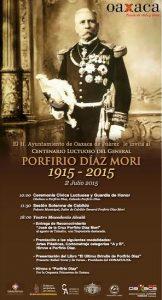 Anuncian cambio de horario en Ceremonia Cívica  Luctuosa y Guardia de Honor a Don Porfirio Díaz Mori