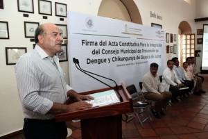 Encabeza Javier Villacaña instalación del Consejo Municipal  de Prevención del Dengue y Chikungunya
