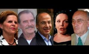Calderón, Fox y Echeverría ganan más que Vladimir Putin