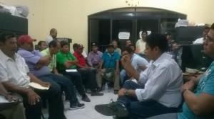 Acuerdan iniciar obras en el municipio de San Pedro Huamelula