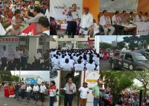 Inicia el Senador Eviel Pérez, gira de actividades en el Istmo