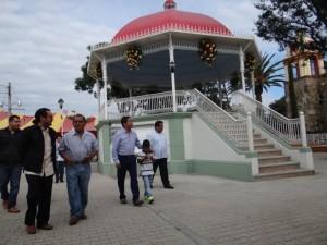 El kiosco de San Agustín será un verdadero foro al aire libre