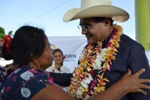 Unidos el Pueblo Huave y Benjamín Robles rescatarán a Oaxaca de la corrupción