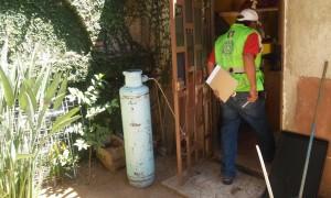 Visita Protección Civil Estatal albergue de migrantes en Oaxaca