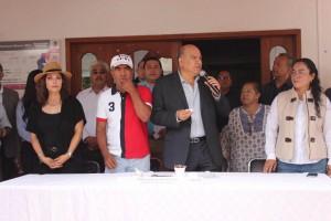 Inicia Villacaña Quinta Audiencia Pública, en Donají; escucha demandas de ciudadanos