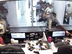 Intervención inmediata de la Policía Estatal, logra detención de 4 presuntos asaltantes de instituciones bancarias