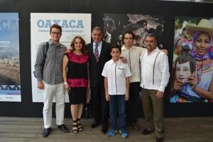 """Inaugura Gabino Cué exposición fotográfica """"Oaxaca, tierra de Dioses inmortales"""""""