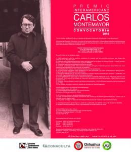 Convocan al Premio Interamericano de Literatura Carlos Montemayor 2016