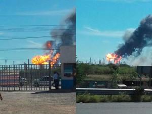 Explosión en la refinería Antonio Dovalí Jaime: 3 heridos.