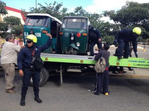 Continúan operativos contra transporte pirata; más de 200 unidades han sido detenidas