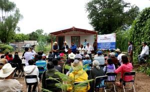 Reconoce diputado local la gran gestión social de Benjamín Robles en materia de vivienda