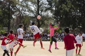 Realizan encuentro deportivo en Miahuatlán
