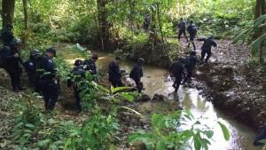 En apego a la legalidad, fuerzas de seguridad  desalojan  a invasores de territorio Chimalapa